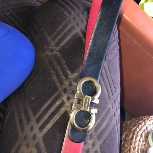 REVERSIBLE FERRAGAMO BELT